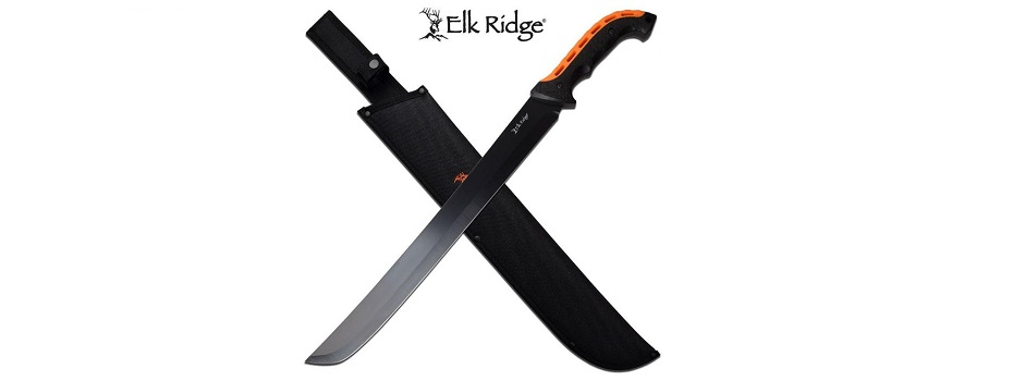 Elk Ridge Full Tang Fixed Blade Machete Knife