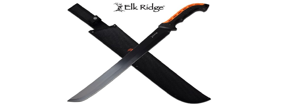 Elk Ridge Fixed Blade Machete