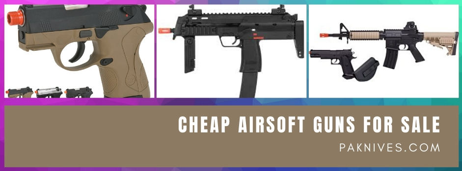 The Differences Among Electric, Gas, And Spring Airsoft Guns For Sale