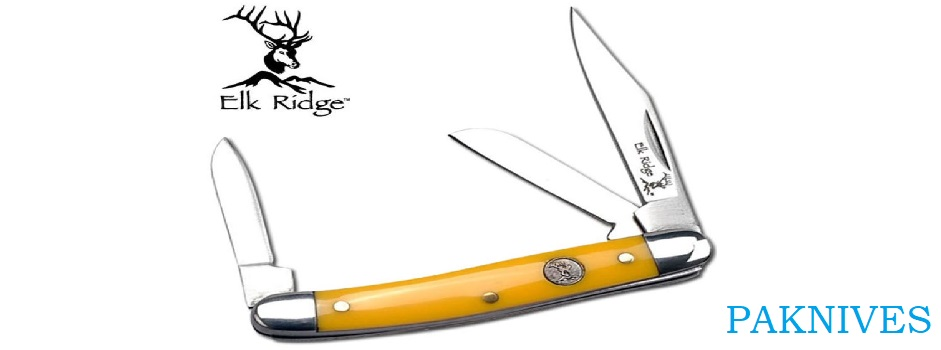 Elk Ridge 3 Bladed Knife