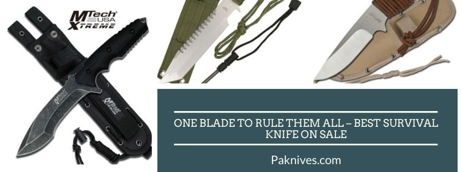 One Blade to Rule the All – Best Survival Knife on Sale