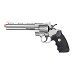 G36B Spring Powered Airsoft Revolver Old West Silver