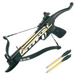 Self Cocking Aluminium Pistol System Crossbow 80 Lbs