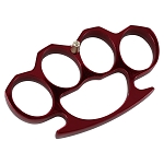Red Heavy Duty Buckle Knuckles Paperweight Accessory