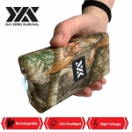 DZS 10 Million Volt Self Defense Forest Camo Stun Gun Rechargeable