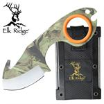 Elk Ridge Infinity Field Skinner Knife - Camo Coated