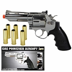 HFC 357 Magnum Full Metal Green Gas Powered Airsoft Revolver