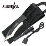 3MM Thick Tanto Blade Survivor Hunting Knife - Fire Starter