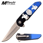 Pocket Knife by Mtech Spring Assisted Knife Police Knife