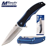 Manual Folding Knife Tanto Blade Pocket Knife in Clamshell