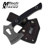 Mtech Xtreme Full Tang Tactical Axe Hatchet - Black G10 Handle