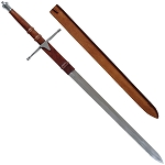 Silver William Wallace Braveheart Medieval Scottish Claymore Sword