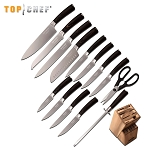 Top Chef Dynasty 15 Piece Block Kitchen Knife Set