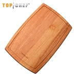 Top Chef Natural Wood Cutting Board 10 X 15