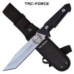The Punisher Tactical Knife 11.5 Inch Fixed Blade Knife Satin Blade