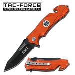4.5 Inch EMT Tactical Rescue Assisted Opening Folder Knife