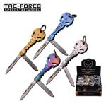 Tac Force Punisher Key Design Folding Knife 24 Piece Box