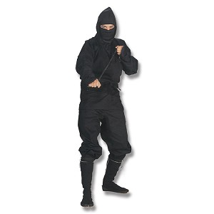 Black Ninja Uniform - Large