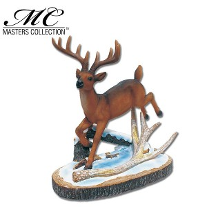 Home Decor Resin Deer Display with Stand