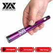 DZS Small Pen Sized 6 Inches Rechargeable Stun Gun Purple