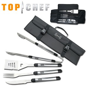 Top Chef Stainless Steel BBQ 5 Piece Set