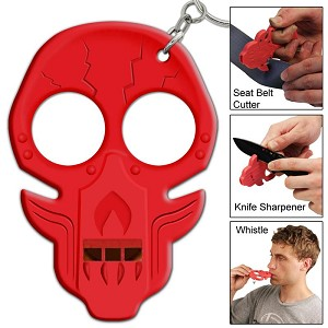 3.75 Inch Trauma Room Uprising Zombie Emergency Key Chain